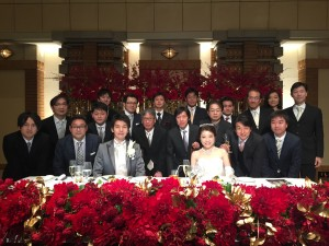 林直美先生結婚式1
