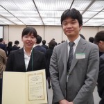 内科学会2018 市川さん優秀演題賞2